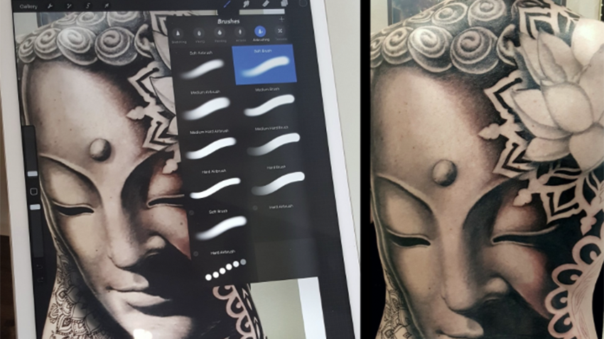 Fred Giovannitti: The ProCreate-artist and a tattoo app