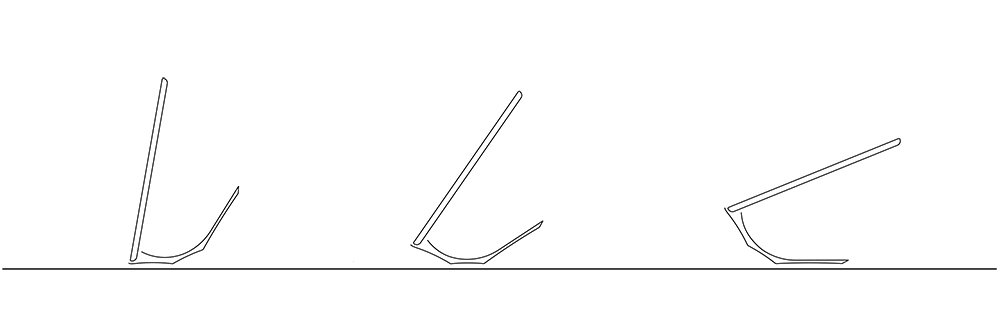 iPad stand Yohann 3 angles